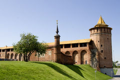 Ruins Of Kremlin In Kolomna City Russia Royalty Free Stock Photography