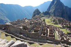 Ruins Of Machu-picchu 11 Royalty Free Stock Photography