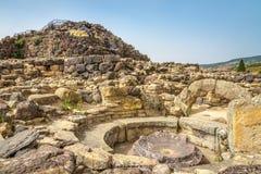 Free Ruins Of Nuraghe Su Nuraxi Near Barumuni In Sardinia Stock Photography - 46499382