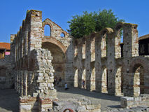 Free Ruins Of Old Stone Church Royalty Free Stock Photography - 17877817
