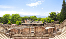 Ruins Of Pompeii Royalty Free Stock Photography