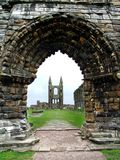 Ruins Of St Andrews Cathedral, Scotland Royalty Free Stock Photo