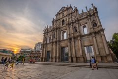 Free Ruins Of St.Paul`s In Macau Royalty Free Stock Photos - 120953838