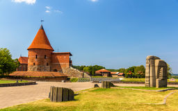 Ruins Of The Castle In Kaunas Royalty Free Stock Photography