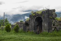 Ruins Of The Part Of Haghpat Monastery Armenia Stock Images