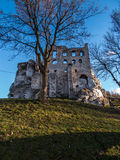 Ruins of Ogrodzieniec castle - Poland Royalty Free Stock Image