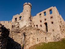 Ruins of Ogrodzieniec castle - Poland Royalty Free Stock Photography