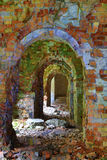 Ruins of old abandoned fort Royalty Free Stock Photo