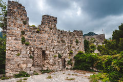 Ruins of Old Bar, Montenegro Stock Photography