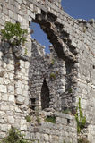 Ruins of Old Bar, Montenegro Stock Photo