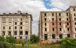 The ruins of the old brewery bragadiru from bucharest. Picture with the ruins of the old brewery bragadiru from bucharest romania Stock Photography