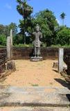 Ruins of old Buddha monastery Stock Photography