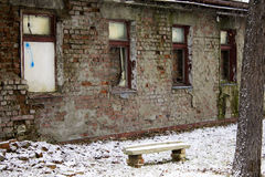 Ruins of an old building Royalty Free Stock Photography