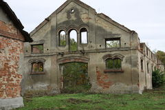 Ruins of old building Stock Images