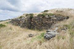 Ruins of Old Cape Jervis Whaling Station, Fleurieu Peninsula, So Stock Images