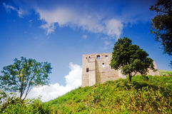 Ruins of old castle. Stock Photography