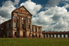 Ruins. Of the old castle Royalty Free Stock Photo