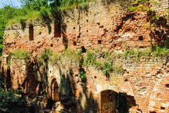 Ruins of old castle Balga Royalty Free Stock Photography