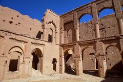 The ruins of the old castle Kasba, Morocco Stock Photo
