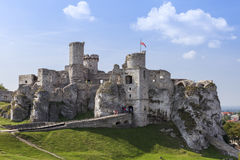 Ruins of the old castle Royalty Free Stock Photo