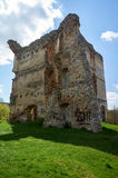 Ruins of old castle Stock Photography
