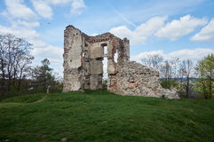 Ruins of old castle Royalty Free Stock Images