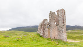 Ruins of an old castle Stock Image