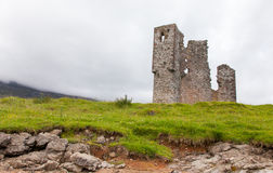 Ruins of an old castle Stock Photography