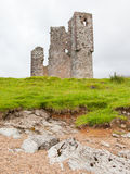 Ruins of an old castle Royalty Free Stock Images