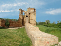 The ruins of the old castle Royalty Free Stock Images