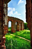 Ruins of old castle Royalty Free Stock Photos
