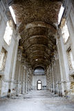 Ruins of old Catholic church in Lemanskoe ( old Leipzig), Odessa Royalty Free Stock Photos
