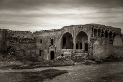 Ruins of old church Royalty Free Stock Photo