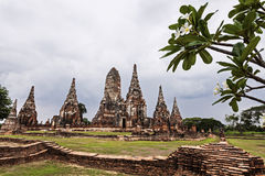 Ruins of old city Ayutthaya Stock Images