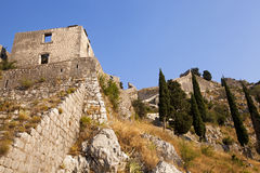 Ruins. Montenegro Royalty Free Stock Images