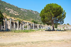 Ruins of the old city Hilt Royalty Free Stock Images