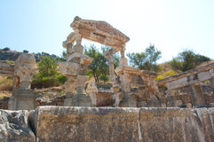 Ruins of the old city Hilt Royalty Free Stock Photography