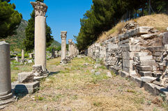 Ruins of the old city Hilt Royalty Free Stock Photos