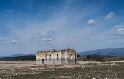 Ruins of the old Eastern Orthodox church of Saint Ivan Rilsk. Ab Stock Photography