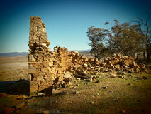 The Ruins. Of an old farm house Royalty Free Stock Photos