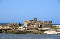 Ruins old fort essaouira morocco Stock Photography