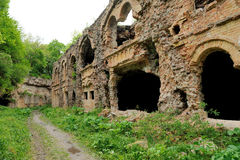Ruins old fort Royalty Free Stock Photo