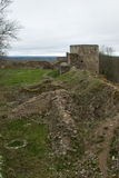 Ruins of Old Fortification Royalty Free Stock Images