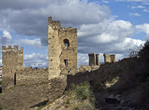 Ruins of old fortress. Stock Image