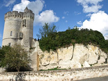 Ruins of old fortress. In France Stock Image