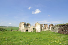 Ruins of old fortress Royalty Free Stock Images