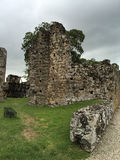 Ruins of Old Fortress, Panama stock photo