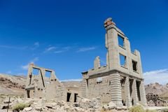 Ruins of Rhyolite Stock Images