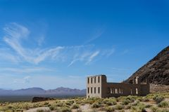 Ruins of Rhyolite Royalty Free Stock Photos
