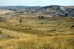 Ruins of old Hittite capital Hattusa Stock Images